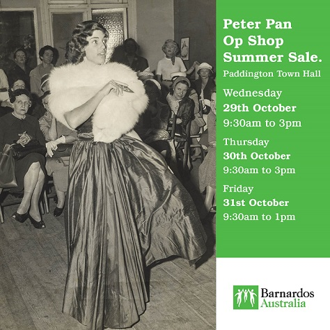 Peter Pan Op Shop Summer Sale
