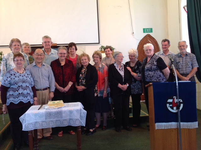 Some of the volunteers at Dunolly Op shop which has raised over $500,000 in the past 20 years. Image c/o Crosslight