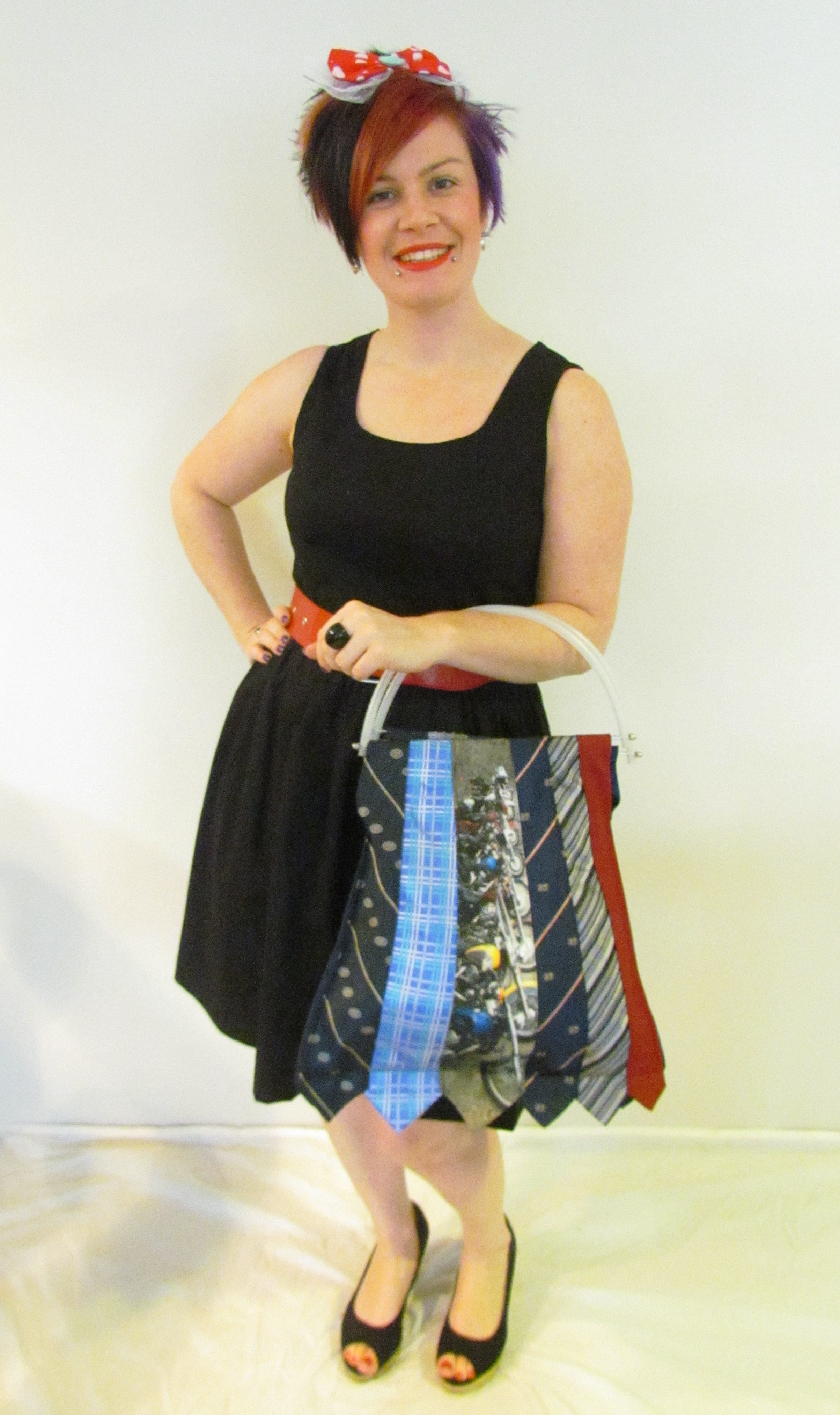 Zenna Donna's upcycled Men's tie bags