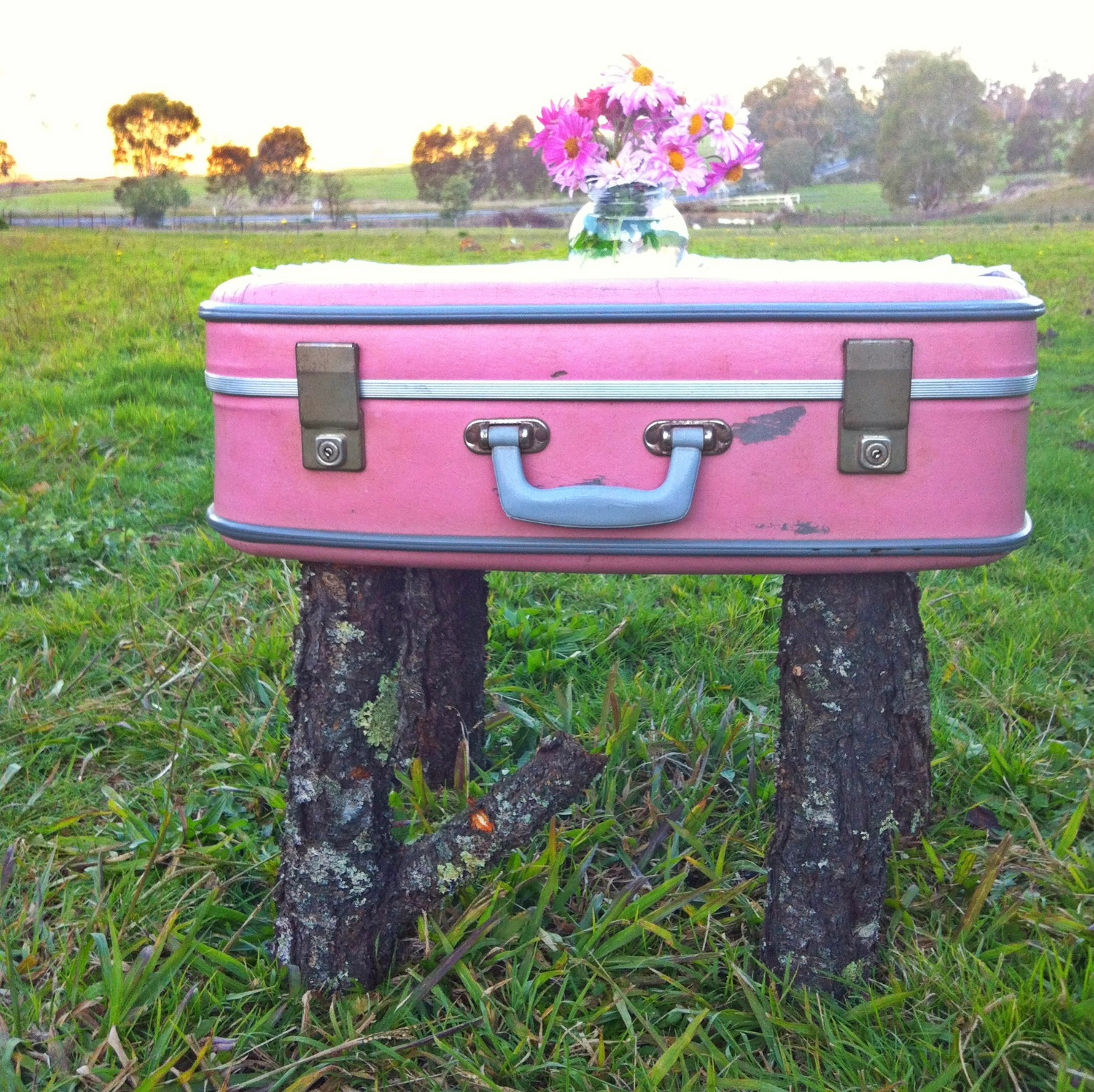 Zenna Donna's upcycled suitcase on her website here.
