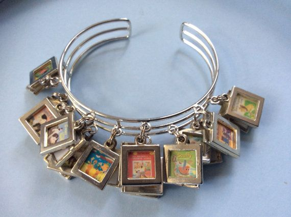 Little Golden Book upcycled bracelet via Low Country Eclectic